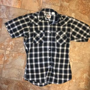 Pearl Snap Button Down
